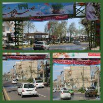 ابتکار شهرداری لاهیجان برای ضدعفونی کردن خودروهای ورودی به داخل شهر