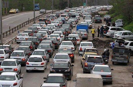 مسافرت ترافیک 457x300 - افزایش قابل ملاحظه حجم سفر به گیلان و مازندران