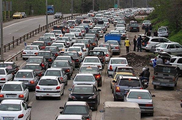 مسافرت ترافیک - ۳۰ هزار خودرو هنوز به شهرهای مبدأ بازنگشته اند