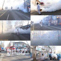 همه مراکز عمومی لاهیجان ضد عفونی شده است