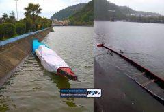 دلیل آبگرفتگی قایق دراگون بوت لاهیجان بارندگی شدید چند روز اخیر بود / مشکل رفع شد