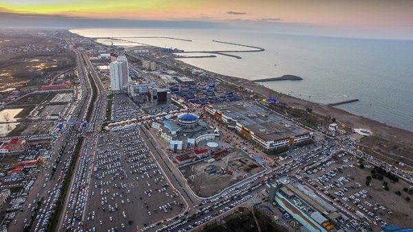 تصویر هوایی منطقه آزاد انزلی 600x338 - توسعه منطقه آزاد انزلی؛ توسعهای به نفع گردشگری، سرمایهگذاری و توسعه صنعتی