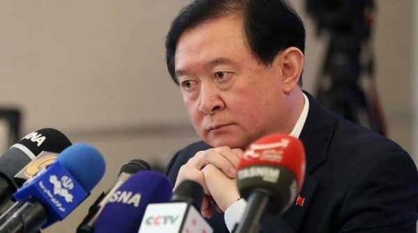 سفیر جمهوری خلق چین 600x335 - نامه اعتراضی جعفرزاده و 15 نماینده دیگر به ظریف/ به سفیر چین تذکر دهید