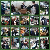 ماسک های تولیدی شهرداری لاهیجان در بین بازاریان و شهروندان توزیع شد