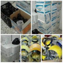 کشف و توقیف بیش از سی هزار دستکش لاتکس و مقادیری مواد ضدعفونی کننده از مطب یک پزشک در لاهیجان