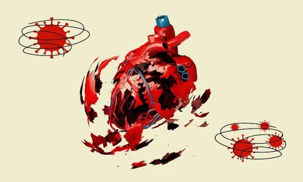 تاثیر وحشتناک ویروس کرونا بر قلب 600x360 - تاثیر وحشتناک ویروس کرونا بر قلب +عکس