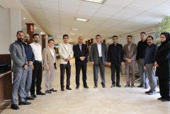 مدیریت شهری لاهیجان با حضور در اداره ارتباطات شهرداری از کارکنان این مجموعه تقدیر کردند