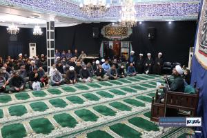 مراسم عزاداری شهادت امام جعفر صادق (ع) در شهرستان رودسر برگزارشد + گزارش تصویری