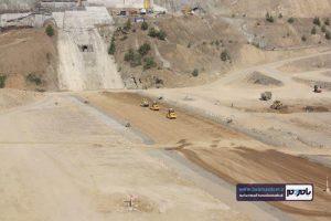 بازدید سردار سعید محمد اسلامی فرمانده قرارگاه سازندگی خاتم الانبیا از سد در حال ساخت پلرود رحیم آباد رودسر