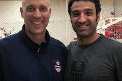 یک گیلانی مربی تیم ملی والیبال امریکا شد