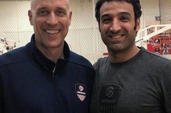 مرتضی شیاری 600x398 - یک گیلانی مربی تیم ملی والیبال امریکا شد