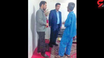 اعدام مرد بی غیرت در زندان مشهد + عکس