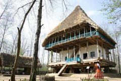 آتش سوزی در موزه میراث روستایی گیلان توسط گردشگران