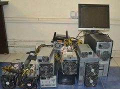 کشف دستگاههای استخراج ارز دیجیتال در لاهیجان
