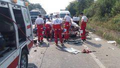 تصادف مرگبار در فومن ۶ کشته برجای گذاشت