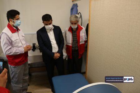 Negar 20200729 092747 450x300 - بازدید دکتر مرادیان معاون بهداشت درمان و توانبخشی جمعیت هلال احمر کشور از مرکز فیزیوتراپی و کاردرمانی جمعیت هلال احمر شهرستان رودسر