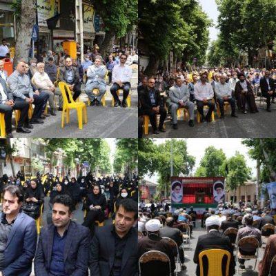 photo 2020 06 13 13 30 50 400x400 - حضور شهردار ،رئیس و اعضای شورای شهر لاهیجان درمراسم سی و یکمین سالگرد ارتحال امام خمینی