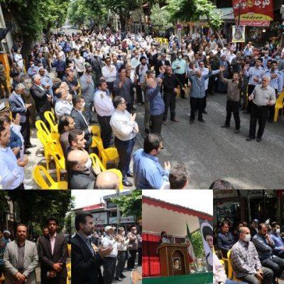 photo 2020 06 13 13 30 59 400x400 - حضور شهردار ،رئیس و اعضای شورای شهر لاهیجان درمراسم سی و یکمین سالگرد ارتحال امام خمینی