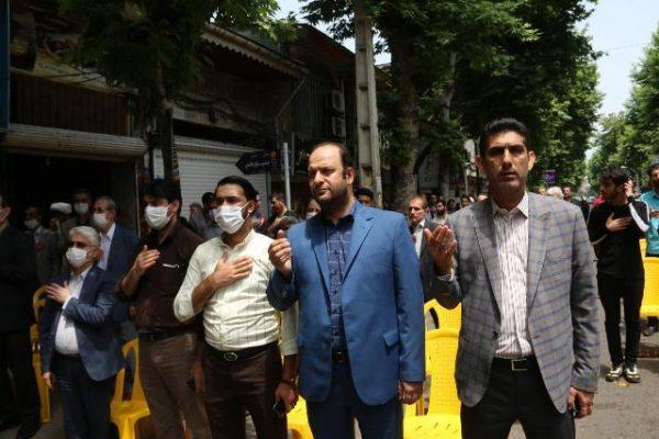 photo 2020 06 13 13 31 06 600x400 - حضور شهردار ،رئیس و اعضای شورای شهر لاهیجان درمراسم سی و یکمین سالگرد ارتحال امام خمینی