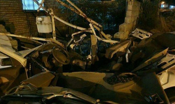 t3 1595999868 photo 2020 07 28 20 48 29 600x358 - مرگ دلخراش ۲ جوان پژو سوار در برخورد با دیوار در چابکسر