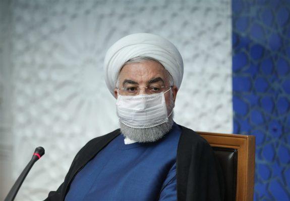 روحانی 575x400 - اقتصاد آلمان ۵.۲ درصد کوچک تر شده؛ اقتصاد ما شرایط بهتری دارد!/ کانال های ضد انقلاب مدام می خواهند مردم را بترسانند