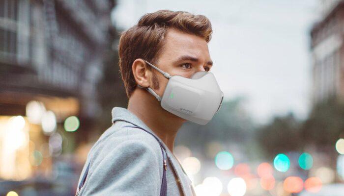 ماسک صورت باتریدار مجهز به فن داخلی 700x400 - الجی از ماسک صورت باتریدار مجهز به فن داخلی رونمایی کرد