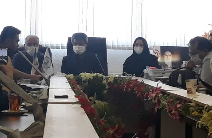 نشست خبری بندر کیاشهر 700x458 - هنوز خود را یک خبرنگار میدانم / دلم برای بوی روزنامه تنگ شده است