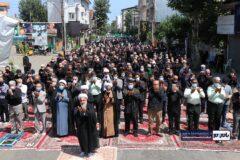نماز ظهر عاشورا در شهرهای گیلان از جمله شهرستان رودسر اقامه شد + تصاویر