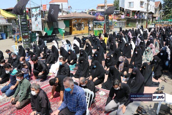 Negar 20200830 161406 700x467 - نماز ظهر عاشورا در شهرهای گیلان از جمله شهرستان رودسر اقامه شد + تصاویر