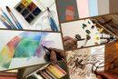 """کارگاههای آموزش مجازی هنرهای تجسمی در وبسایت """"آرتپالت"""""""