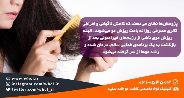 hair loss diet 1 - راههای واقعاً موثر برای درمان و جلوگیری از ریزش مو