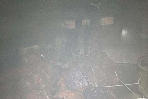 آتش سوزی خوابگاه دانشجویی در رشت - آتش سوزی خوابگاه دانشجویی در رشت با یک دانشجوی مستقر!