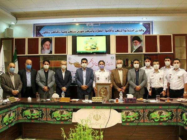 برگزاری مراسم بزرگداشت روز اورژانس در لاهیجان - برگزاری مراسم بزرگداشت روز اورژانس در لاهیجان