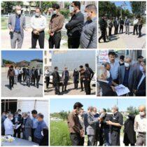 سرپرست شهرداری لاهیجان از پروژههای شهری بازدید کرد