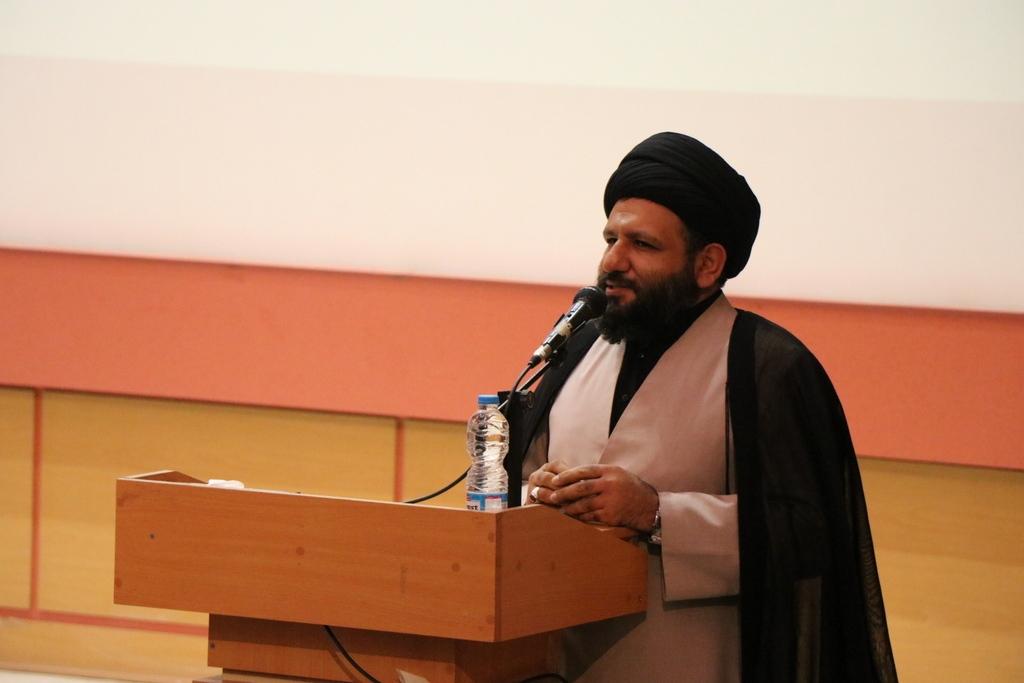سلیمانی امام جمعه لاهیجان - گزارش تصویری مراسم تکریم و معارفه فرماندار لاهیجان