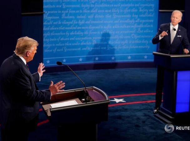 نخستین مناظره انتخاباتی ریاست جمهوری آمریکا - کرونا،فرزندان بایدن، جنبش سیاه پوستان و پذیرش نتیجه انتخابات مهم ترین بحث های مناظره تند ترامپ و بایدن