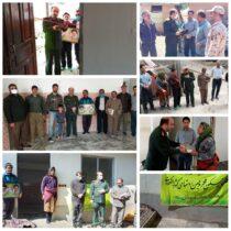افتتاح دو واحد مسکن محرومین در روستاهای کشایه و لیما اشکورات رودسر