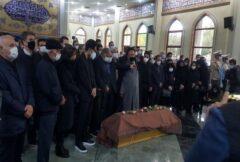 اقامه نماز بر پیکر استاد شجریان به صورت محدود برگزار شد/ تشییع در مشهد با حضور مردم