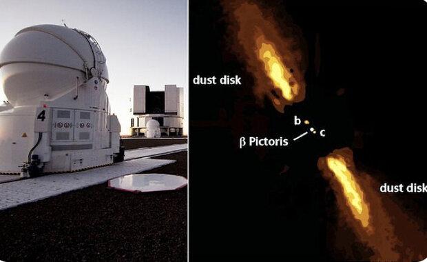 ثبت نخستین عکس مستقیم از یک سیاره فراخورشیدی - ثبت نخستین عکس مستقیم از یک سیاره فراخورشیدی