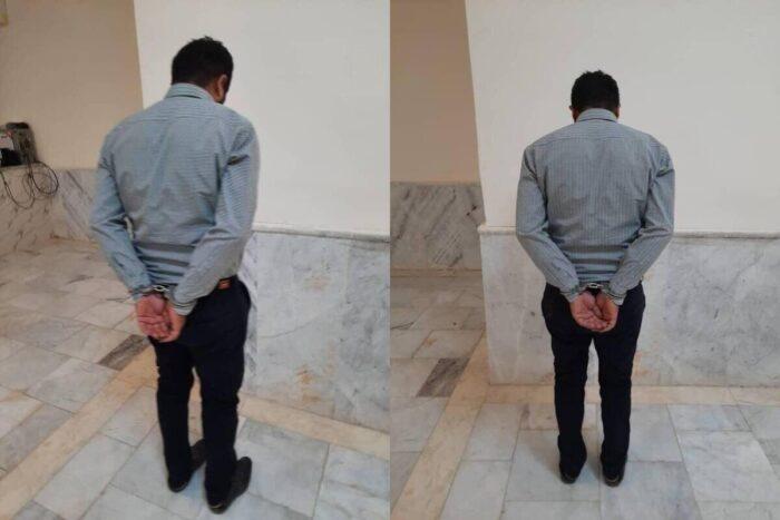 مامور حراست فیزیکی نفت آبادان 700x467 - بازداشت مامور حراست فیزیکی نفت آبادان بعد از بدرفتاری با یک خانم زخمی