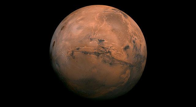 مریخ - مریخ در کمترین فاصله با زمین قرار گرفت