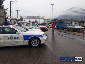 گزارش تصویری اجرای محدودیت های کرونایی در گیلان، شهرستان رودسر