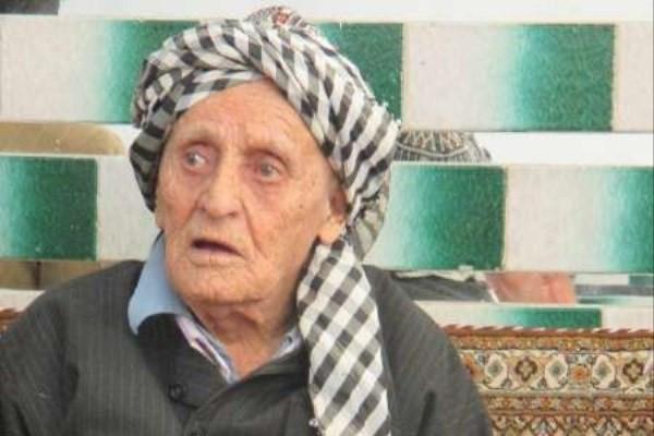 پیرترین مرد ایرانی - پیرترین مرد ایرانی فوت کرد + عکس