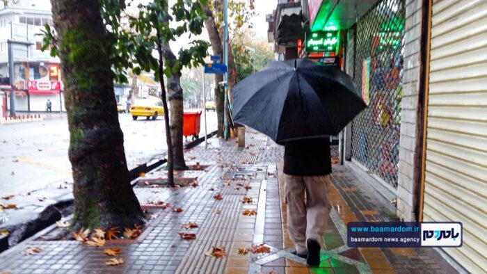 بارش باران پاییزی بارندگی 3 700x394 - بارش میانگین بارش ۴۶ میلیمتری در گیلان/ انسداد ۵ پل روستایی