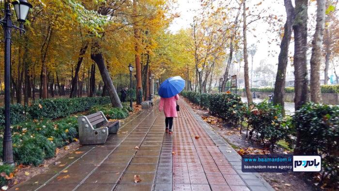 بارش باران پاییزی بارندگی 4 700x394 - ورود سامانه بارشی به گیلان در نخستین روزهای پاییز