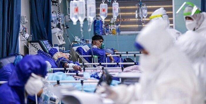 بستری بیمارستان کرونا 700x352 - بستری ۳۷۰ بیمار کرونایی در گیلان/ سه ویژگی مهم کرونای دلتا