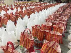 ۵۰۰ بسته کمکمعیشتی توسط خواهران بسیجی در رشت توزیع شد
