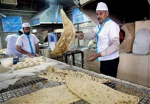 نانوا - درخواست افزایش ۱۰۰درصدی قیمت نان