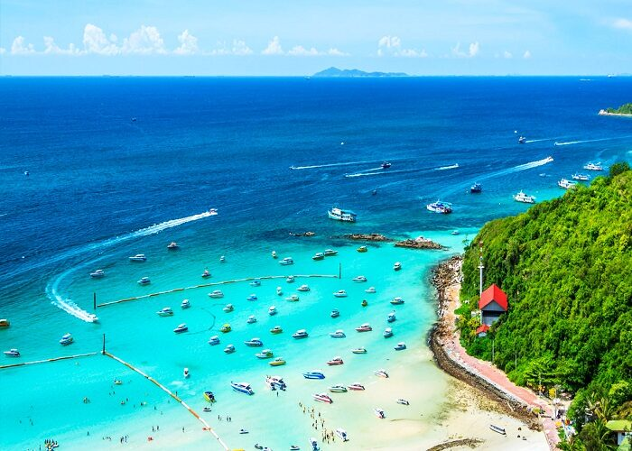 1573341006 coral island pattaya 700x500 - جاذبه های دیدنی در شهر پاتایا – بانکوک