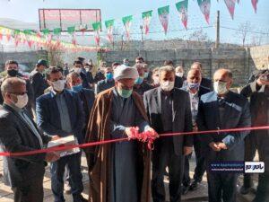 افتتاح یک طرح خدمات کشاورزی در روستای کوشکوه رحیم آباد